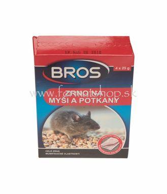 BROS zrno 100g myši/potkany