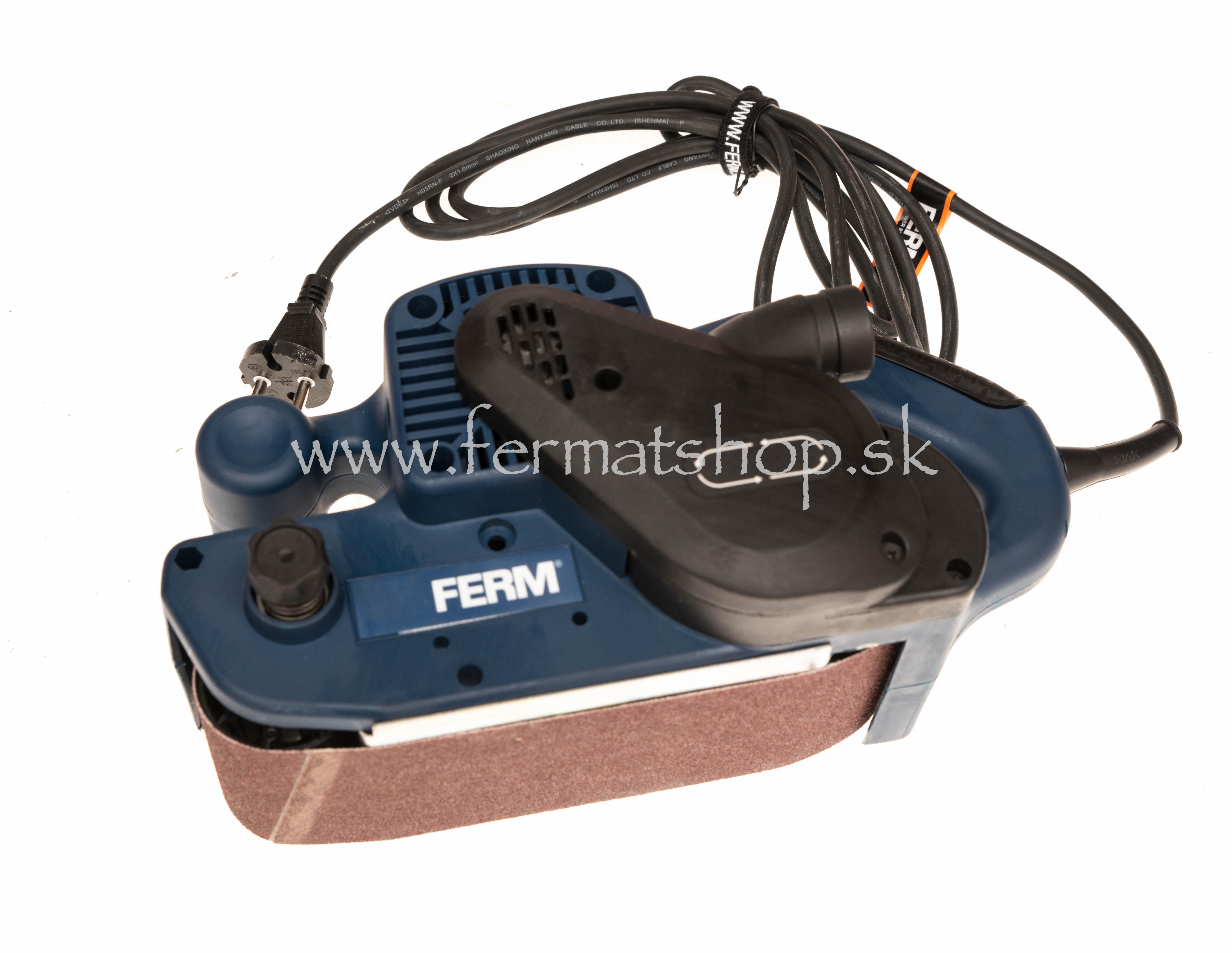 4286f3588316b Pásová brúska Ferm BSM 1024 - FERMAT SHOP